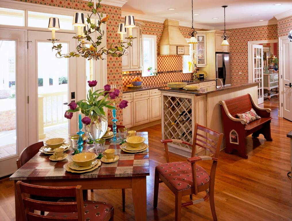 Beautiful Americana Home Decor Kitchen Ideas — Ideas Roni ...