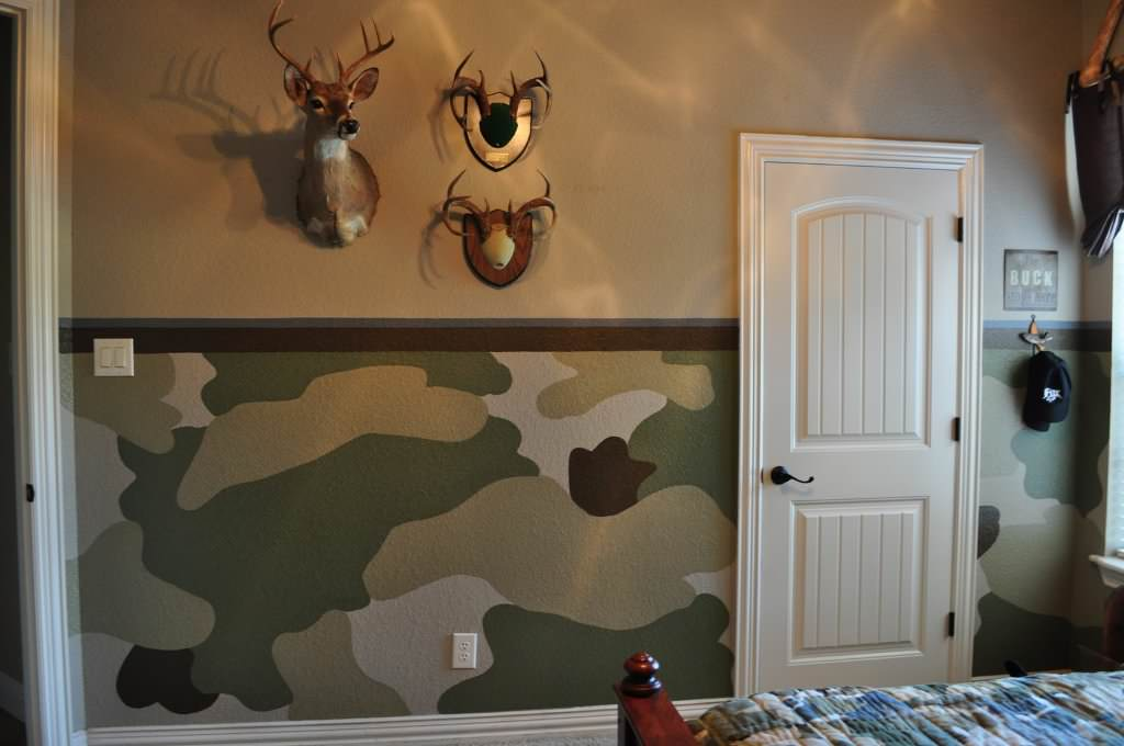 Camo Home Decor Living Room Ideas