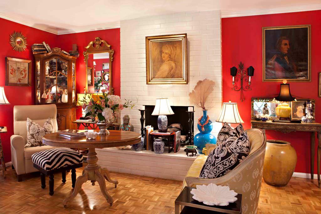 Elegant 1940s Home Decor Living Room Design — Ideas Roni ...