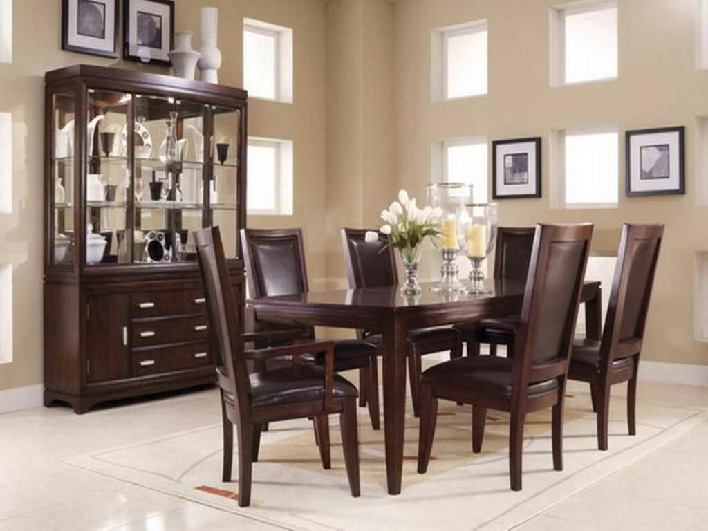 Image Of Formal Dining Room Centerpieces