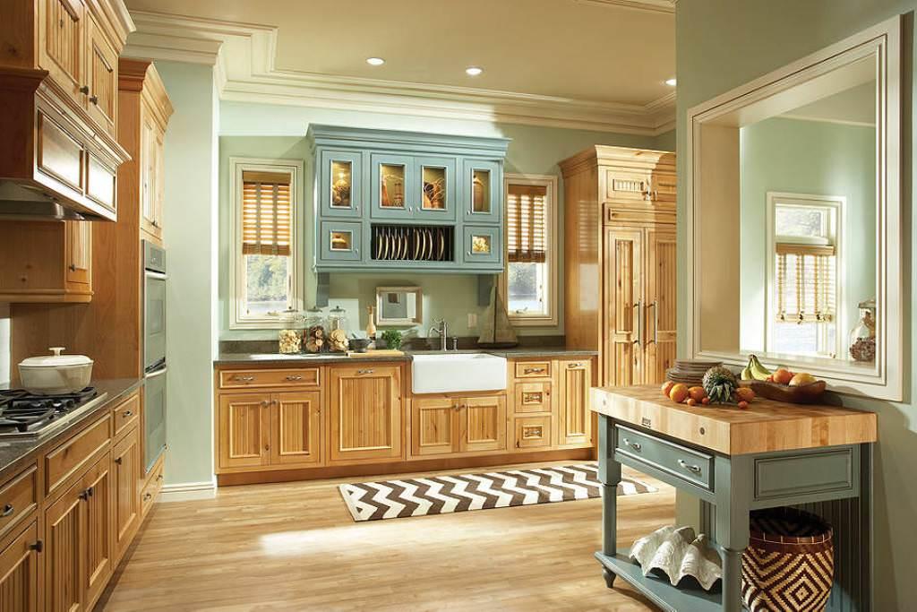 Knotty Pine Kitchen Cabinets Painted White — Ideas Roni ...