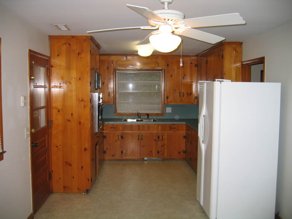 """Old Knotty Pine Cabinets — Ideas Roni Young from """"Best ..."""