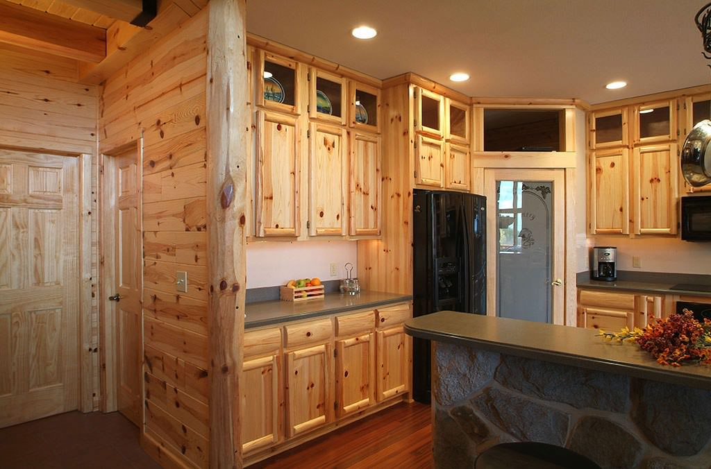 Pine Kitchen Cabinets Ideas Roni Young From Quot Best Knotty