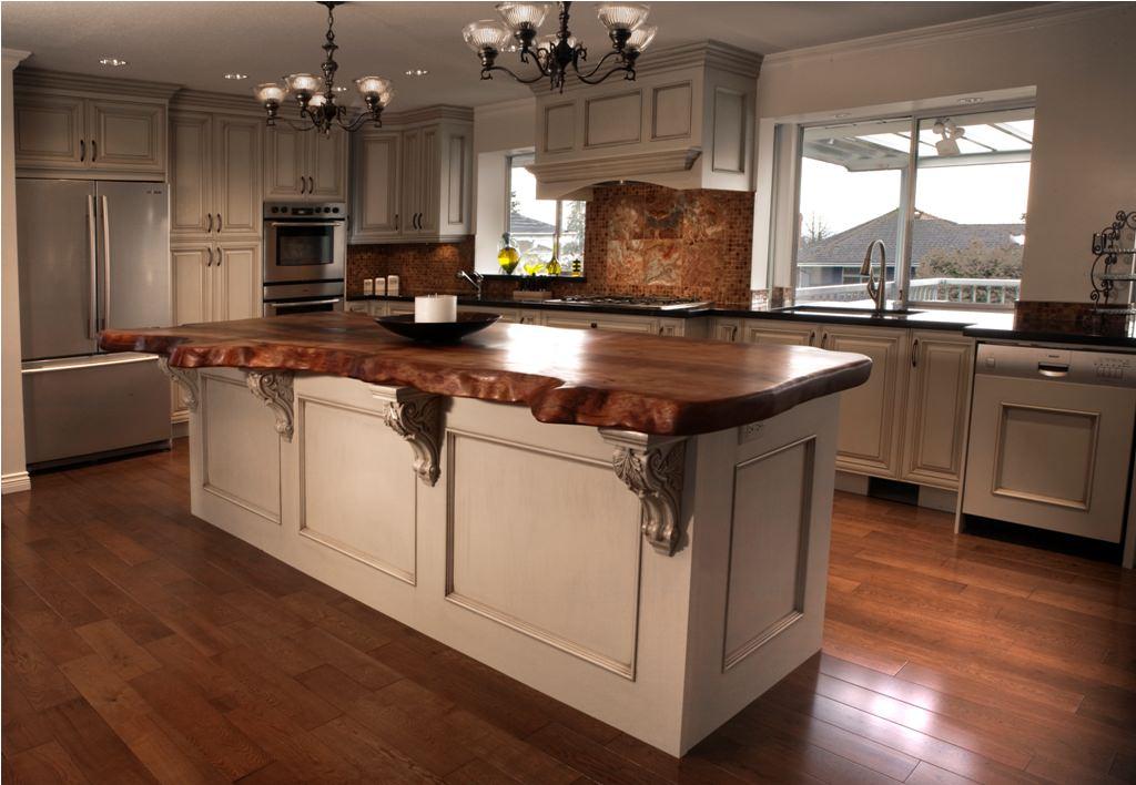 High end kitchen remodel - after   kitchen cabinets ...