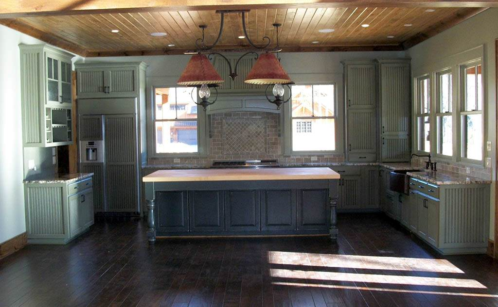 White Beadboard Kitchen Cabinets Simple — Ideas Roni Young ...