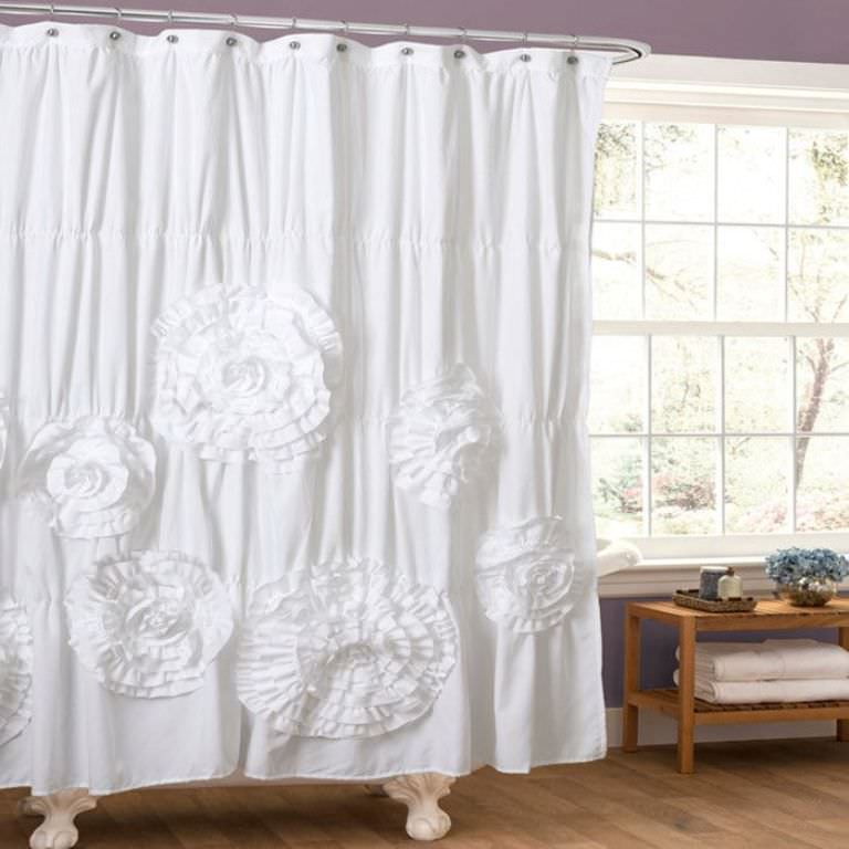 Country Ruffled Curtains Bathroom Ideas Roni Young From