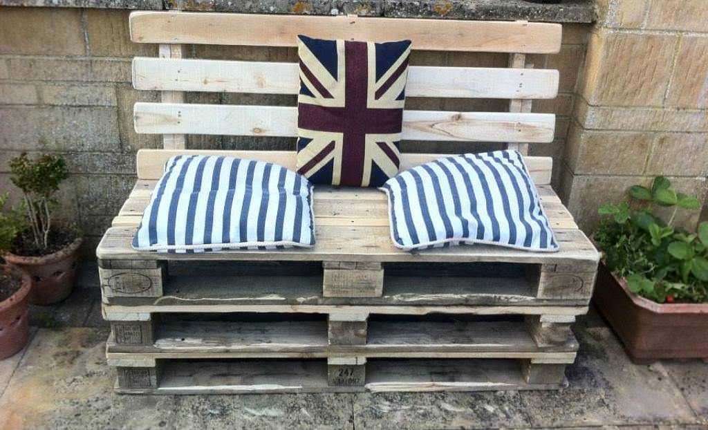 Pallet Bench Diy Ideas Roni Young The Useful Of Pallet