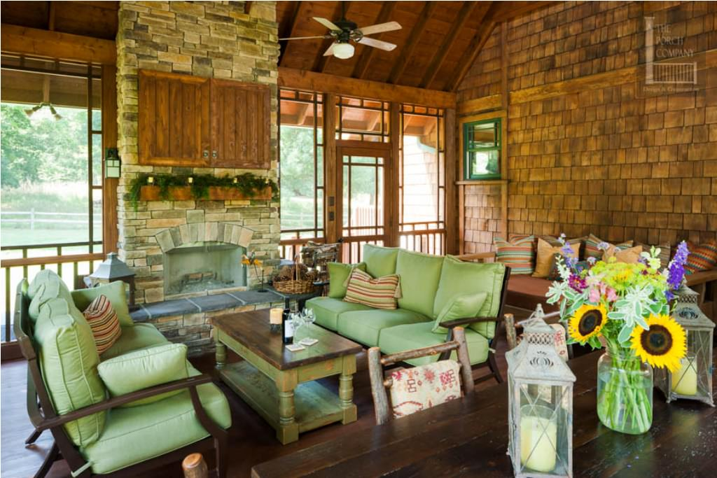Screen Porch Decorating Photos — Ideas Roni Young : Choosing ...