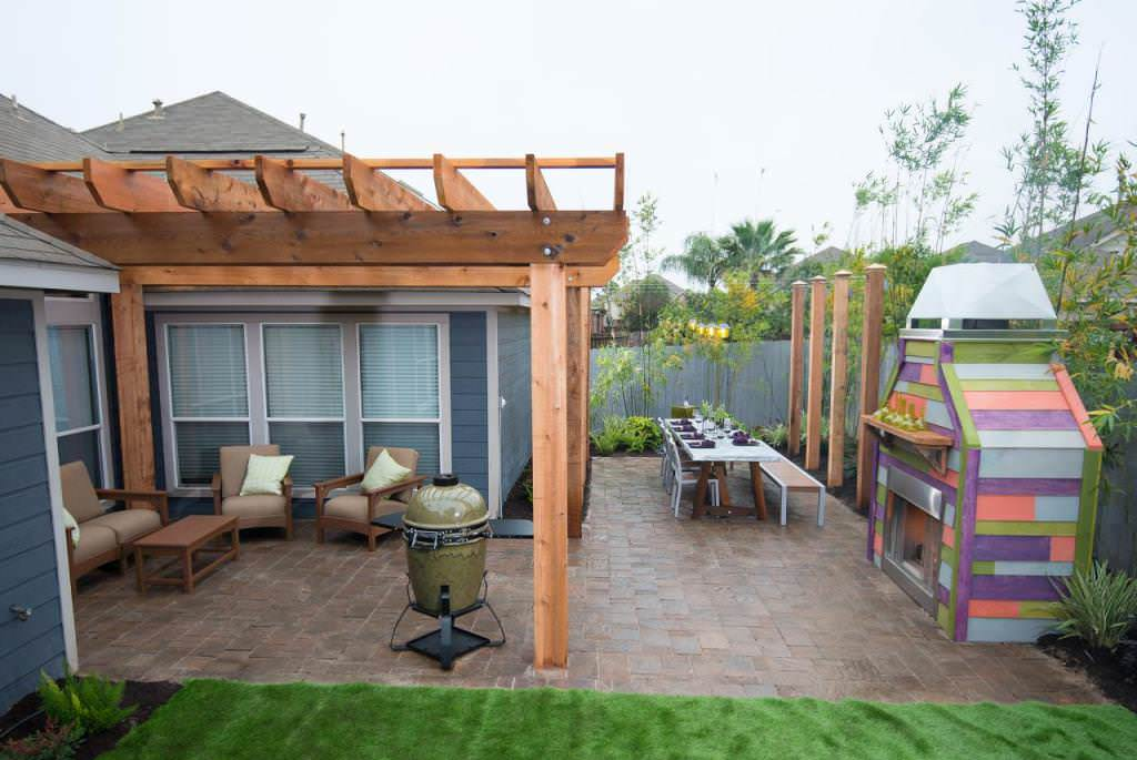 "Best Backyard Makeover Show — Ideas Roni Young from ""The ..."