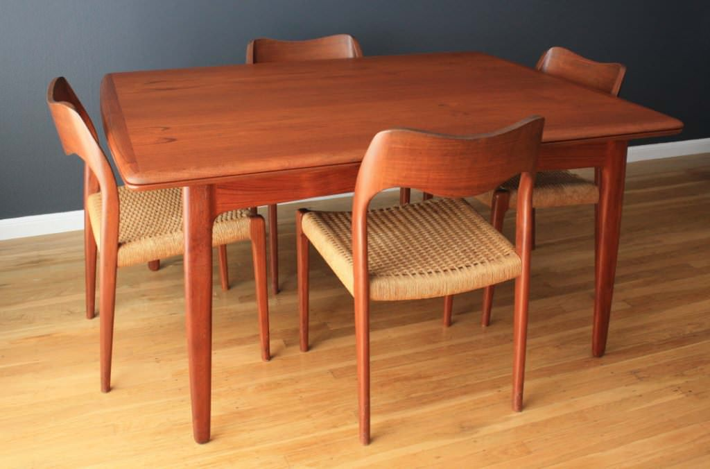 "Teak Indoor Dining Table — Ideas Roni Young from ""The Best ..."