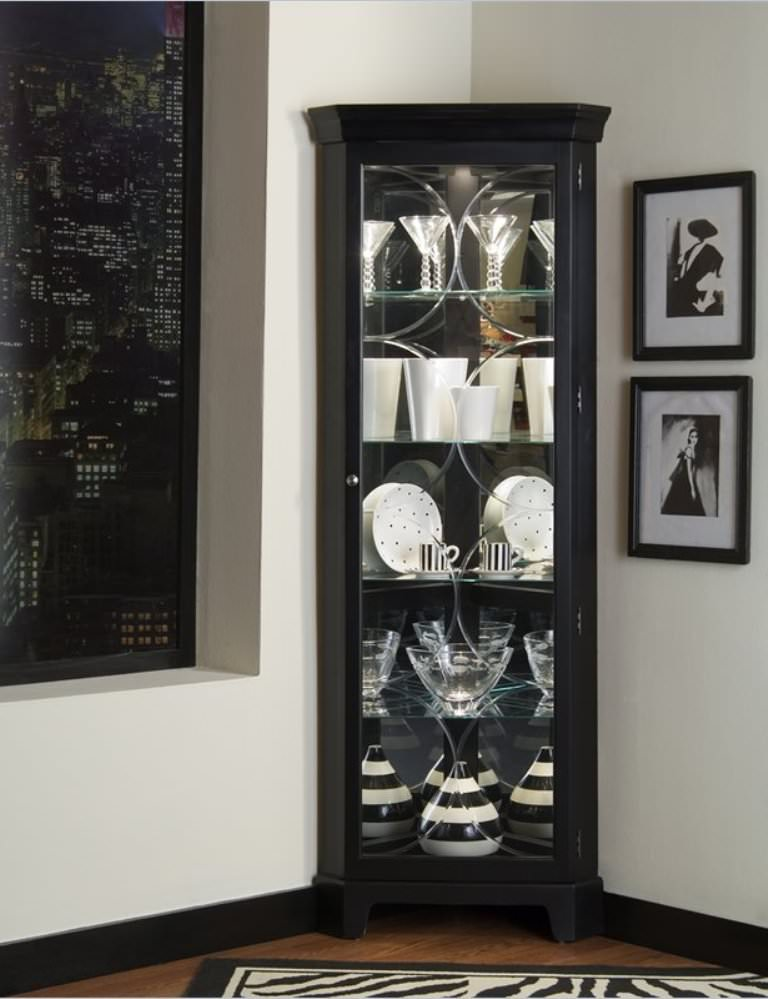 Modern Tall Corner Storage Cabinet — Ideas Roni Young : The ...