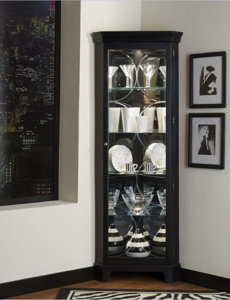 Rustic Tall Corner Storage Cabinet Bathroom — Ideas Roni ...
