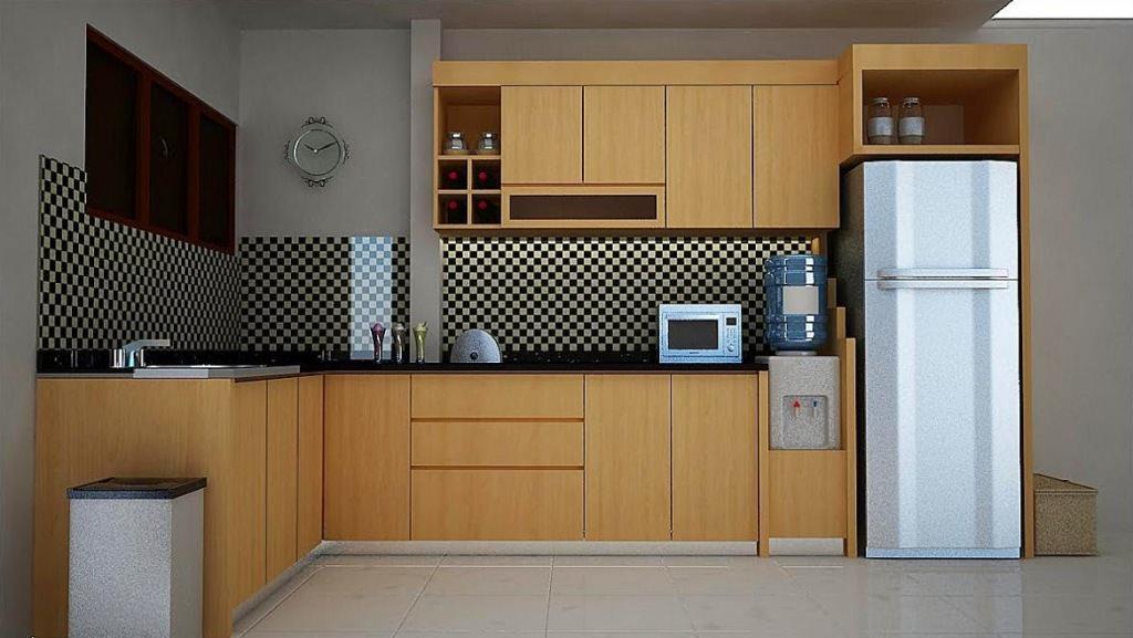 Teak Kitchen Cabinets Dwell Flat Panel — Ideas Roni Young ...