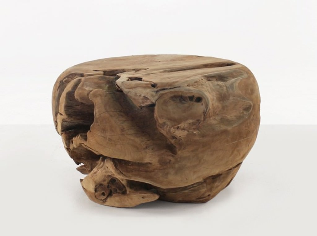 "Teak Root Table Base — Ideas Roni Young from ""The Most ..."