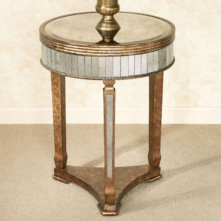 Vintage Brass Accent Table Ideas Roni Young From Quot The