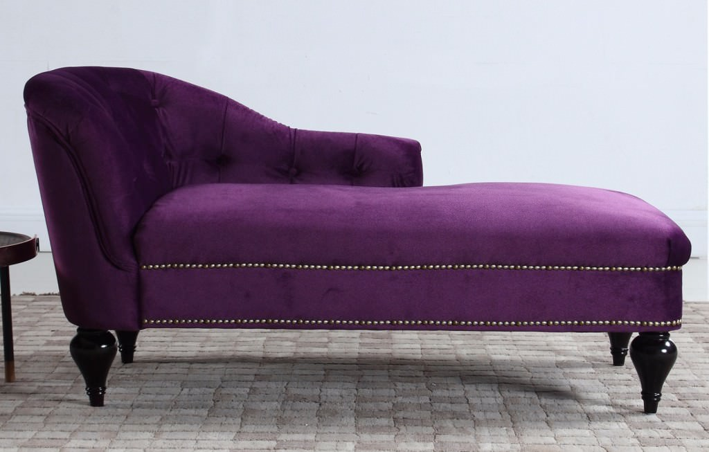 Purple Velvet Chaise Lounge Ideas Roni Young From Quot The