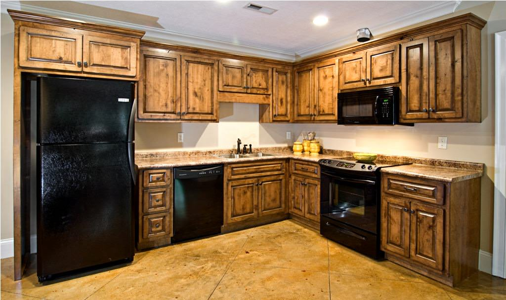 """Stain Unfinished Cabinets — Ideas Roni Young from """"The ..."""