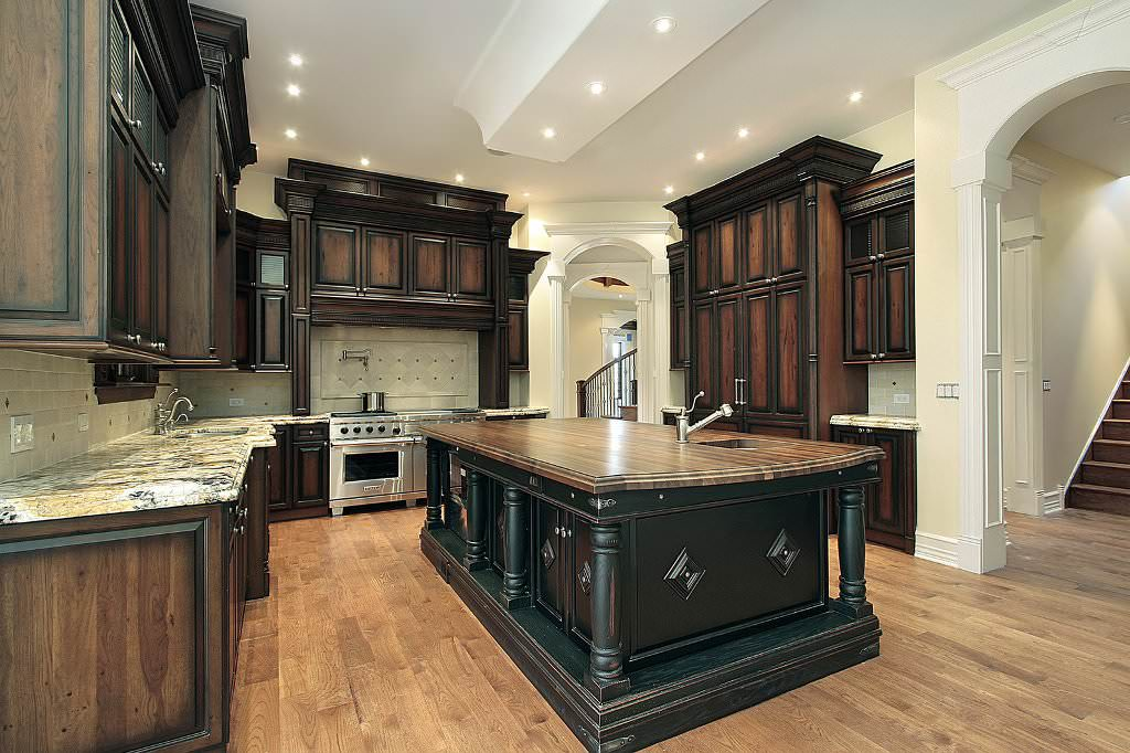 """Staining Cabinets Darker — Ideas Roni Young from """"The Most ..."""