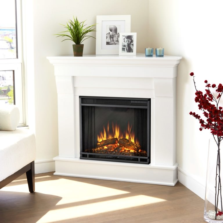 Corner Electric Fireplace Style Ideas Roni Young From