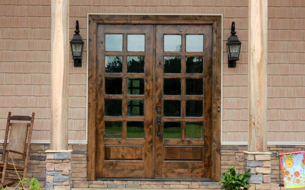 Rustic Double French Doors Exterior Ideas Roni Young