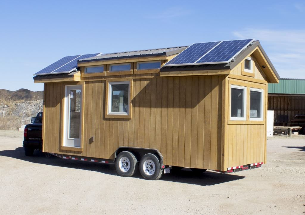 Tiny Home Designs: Solar Powered Tiny House On Wheels