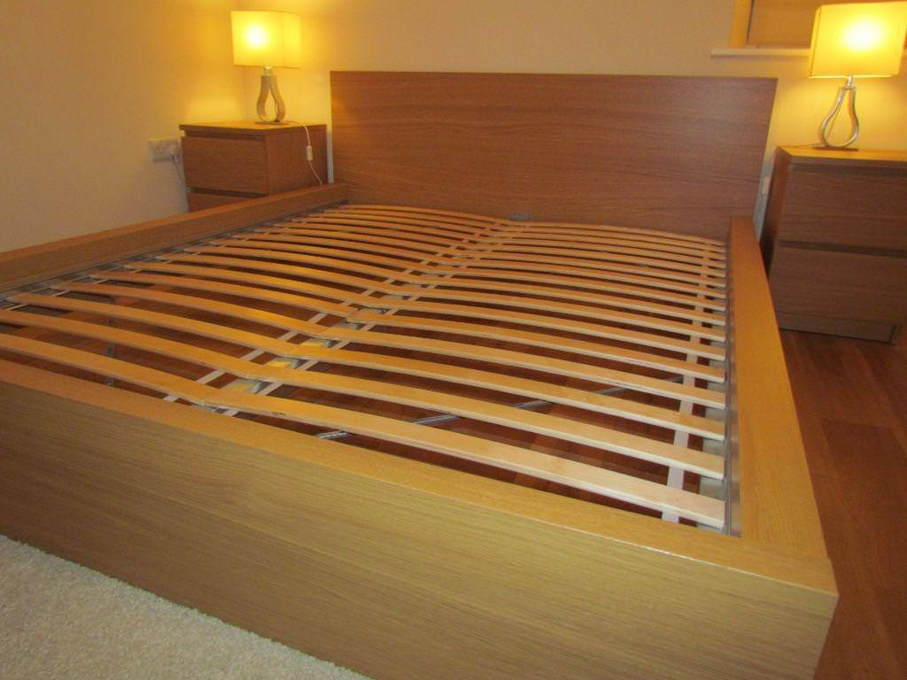 queen size bed frames ideas roni young sophisticated malm bed frame you wouldn t want to leave. Black Bedroom Furniture Sets. Home Design Ideas