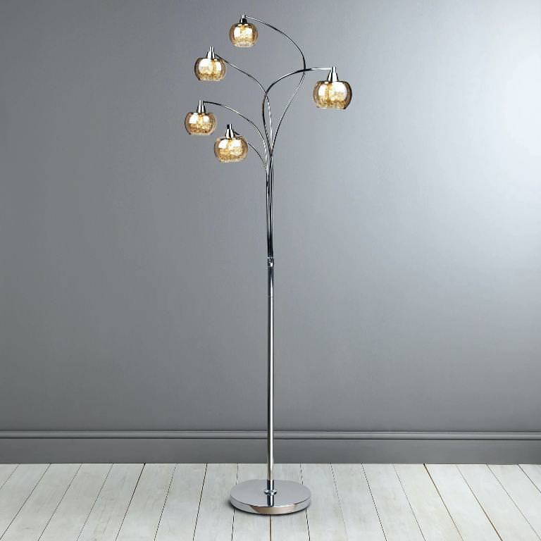 Elegant crystal floor lamps ideas roni young crystal - Elegant floor lamps for living room ...